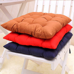 Simple Fashion Solid Cushion Dinner Lint Chair Cushions Gift Winter Home Pillow Decorative Office Super Soft Seat Mat Cover(China (Mainland))