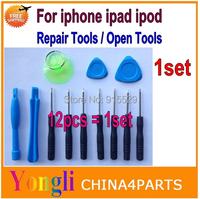 1set 12 in1 Cell Phones Opening Pry Repair Tool Kit Screwdrivers Tools Set Ferramentas Kit For iPhone Samsung Nokia HTC Sony etc