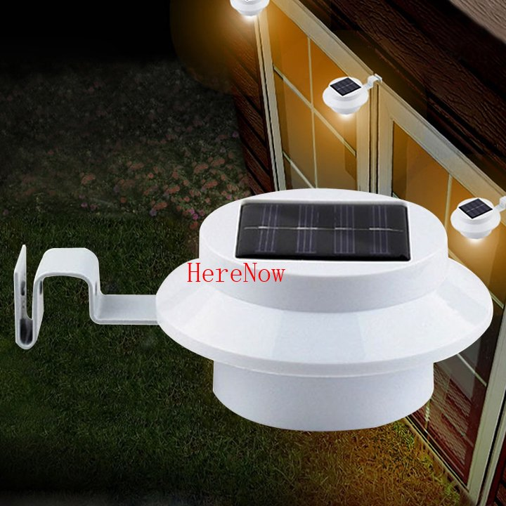 Quality Solar Wall Lights : 2015 new coming hot sales high quality Solar Power Panel 3 LED Fence Gutter Light Outdoor Garden ...