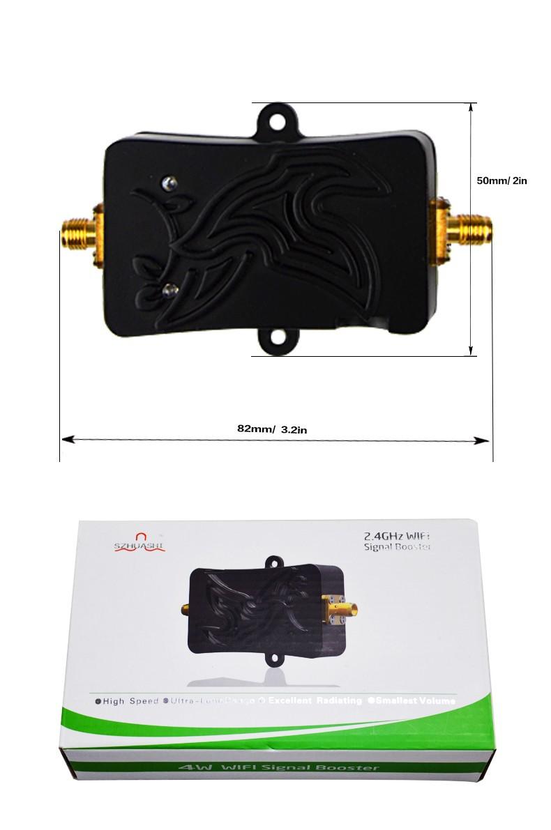 4w 2 4ghz wifi verst rker wireless power range signal. Black Bedroom Furniture Sets. Home Design Ideas