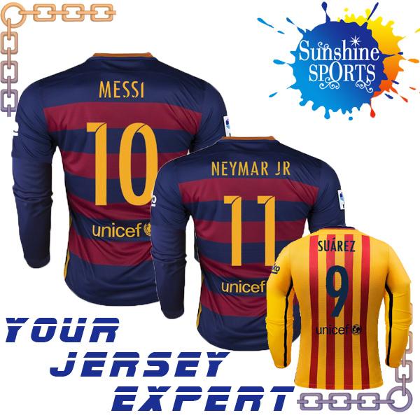 Потребительские товары 2016 NEYMAR JR 2015 camisas rojo y azul Jersey футбольная форма made in china top thain barcelona 15 16 home soccer jersey 11 neymar jr