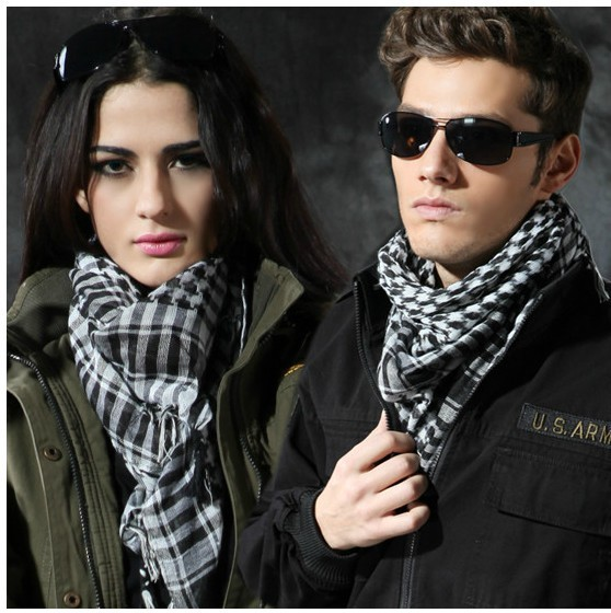 Freeshipping New arrival shemagh Arab riding scarf fashion scarf MILITARY TACTICAL DESERT SCARF 3 colors available(China (Mainland))
