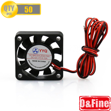 50 Pcs Lot O Fine store 3D Printer Parts 40 40 DC 12V 0 1A Fan