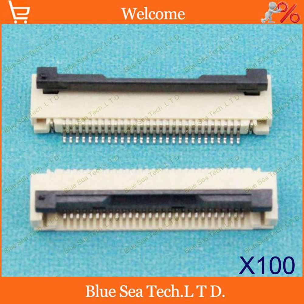100 pcs FPC/FFC connector cable socket 28 pin 0.5mm connector for LCD screen interface of DVD/GPS/MP3/PDA/Phone ect.ROHS<br><br>Aliexpress