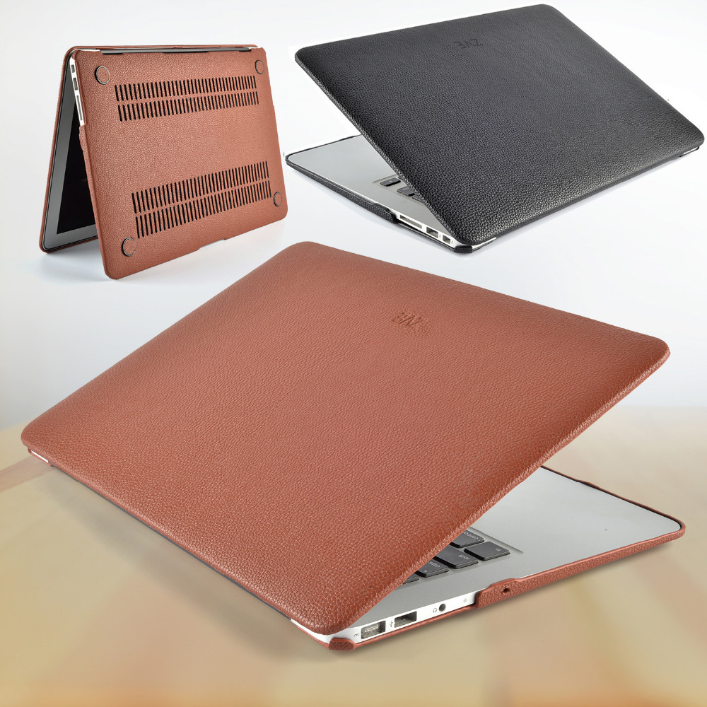 "ZVE Fashion Pu Leather Protecter Sleeve Case for Macbook Pro/Air/Retina ""11""""13""""15""(China (Mainland))"