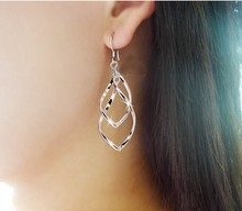 Min.order is $8 (mix order) Free Shipping Gold/Silver Plated Earrings Jewelry Top Quality Earring Wholesale XY-E481 E482