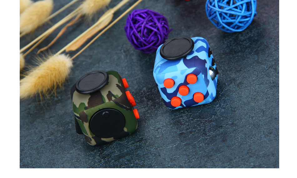 Do Dower Fidget Cube Toys Desk Spin Magic Cubes Stress Relief Toys Gifts For Boys Girls ABS Material Puzzle Cube Toys