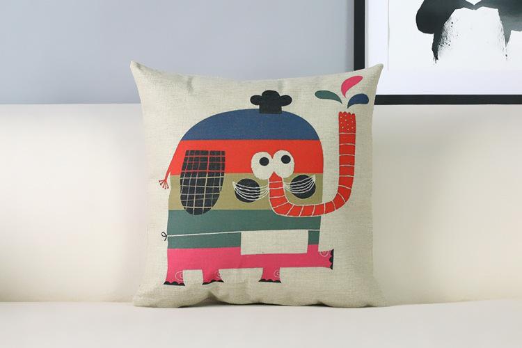 Fresh Childlike Cartoon Pillow s Modern Pillow Cushion Children s room decorative pillows home decor sofa