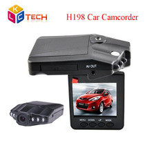 2016 HOT Selling HD H198 Car DVR with 2.5 Inch 270 Degree Rotated Screen + 6 IR LED + Motion Detection Car Camera Camcorder(China (Mainland))
