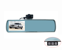 Hight quality 4.3″ screen DVR Rearview Mirror Monitor DV650 Camera HD1080P DVR Motion Video Recorder 170 degree lens