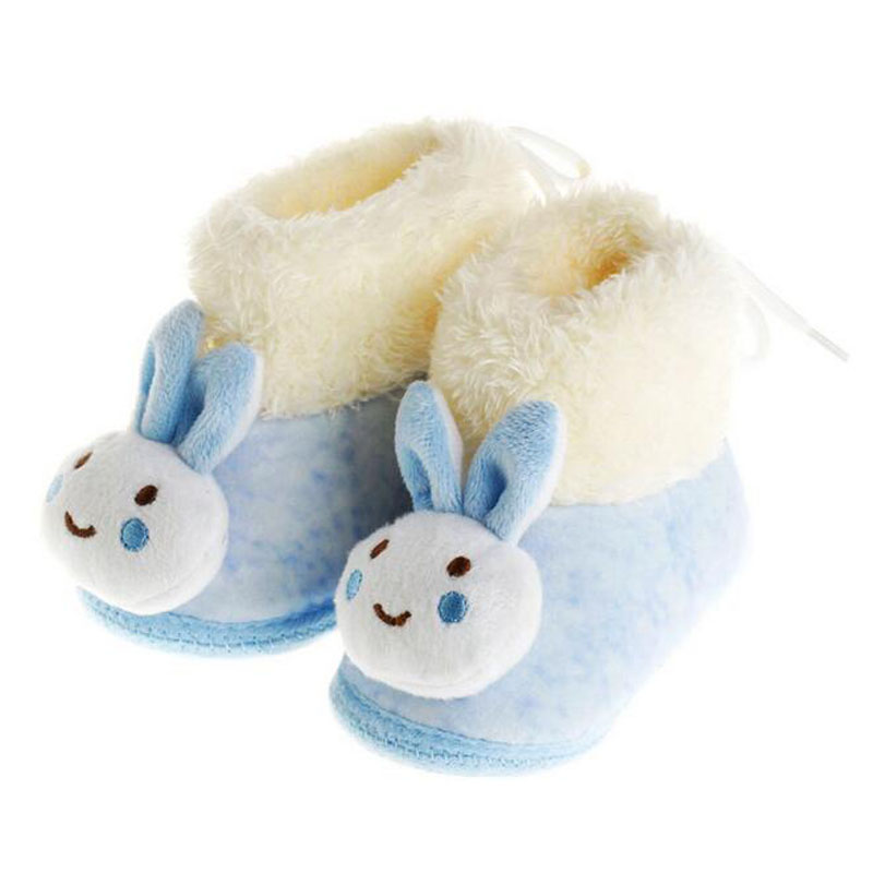 Best Winter Fashion Baby Boots Newborn Shoes Soft Soled Boy Girl Rabbit Shoe Infant Wool First Walkers Birthday Gift(China (Mainland))