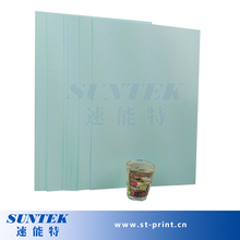 A4 Size 10 Sheets Inkjet  Blue Transparent Water Transfer Printing Paper by White Ink Print(China (Mainland))