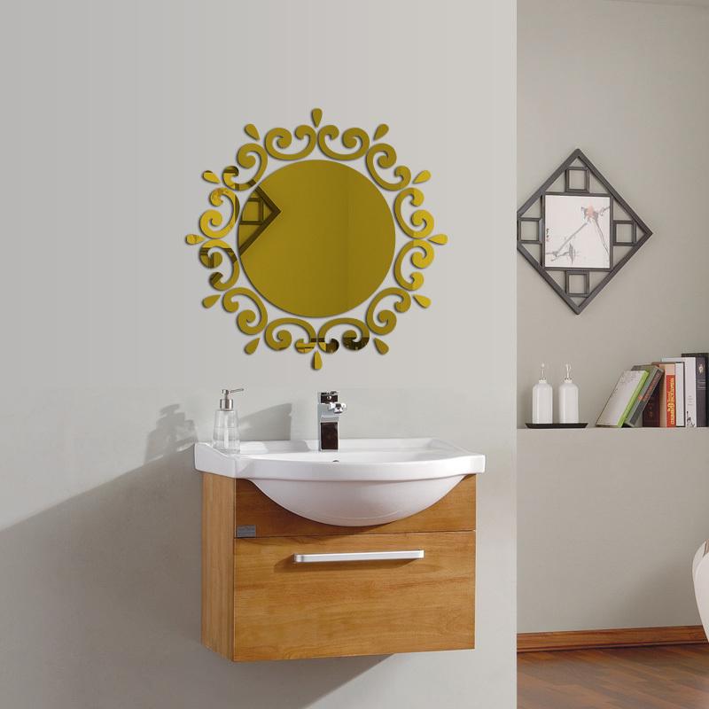 Buy 2016 New 3d Mirror Wall Stickers Acrylic Sticker Adesivo De Parede Home