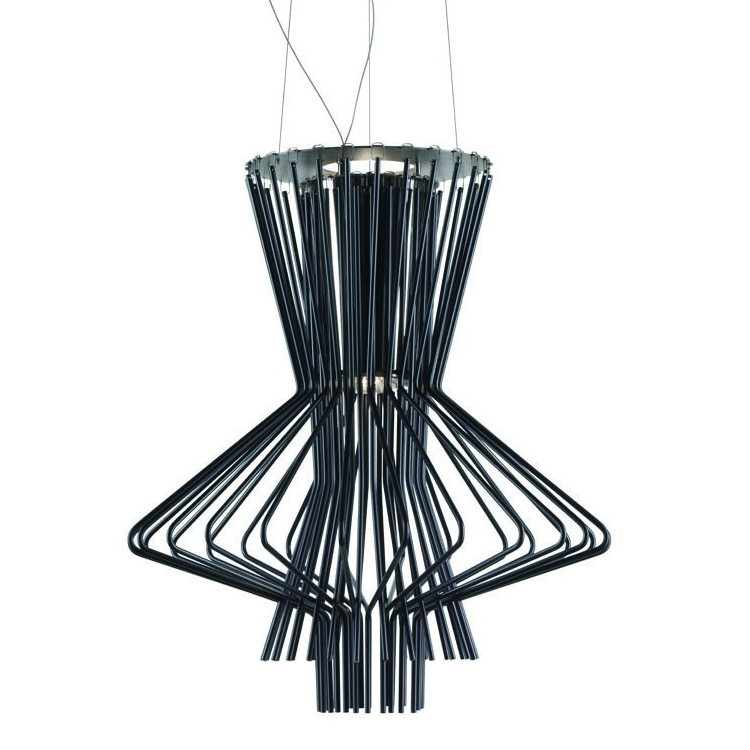 2015 Real Lamp Light Fixtures Italy Classic Foscarini Allegro After The Modern Minimalist Fashion Chandelier Instrument Aluminum(China (Mainland))