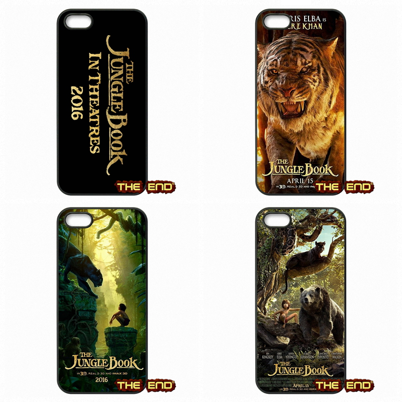 Loving The Jungle Book (2016) Phone Case Cover Shell For Apple iPod Touch 4 5 6 iPhone 4 4S 5 5C SE 6 6S Plus 4.7 5.5(China (Mainland))