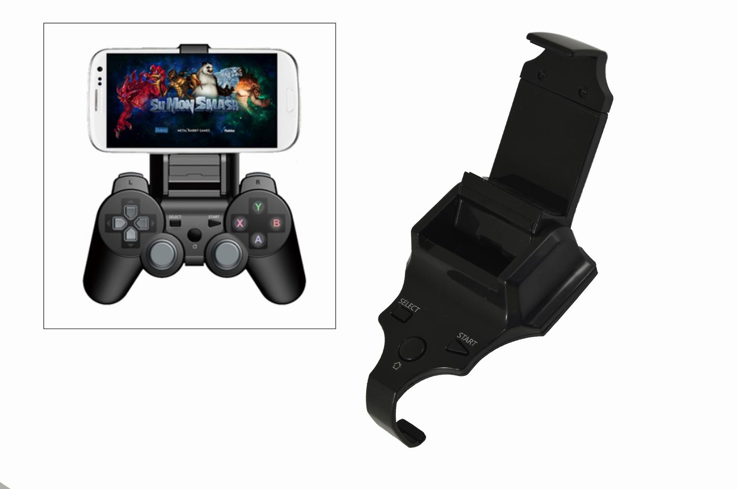 Length Adjustable Smart Clip Game Phone Holder for Sony PS3 Dual Shock 3 Galaxy Series Video Game Player Accessories(China (Mainland))
