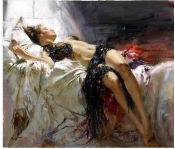 new body femme nue lady toile art peinture l 39 huile garanti 100 livraison gratuite dans. Black Bedroom Furniture Sets. Home Design Ideas