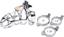 2015 new stainless steel sex product Male Chastity Devices sex products(China (Mainland))