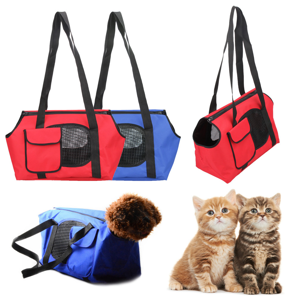 Pet Carrier Carrying Cat Dog Puppy Small Animal Handle Carrier Pet Bag Cats Supplies Portable Travel Tote Handle Pet Bag S,L(China (Mainland))