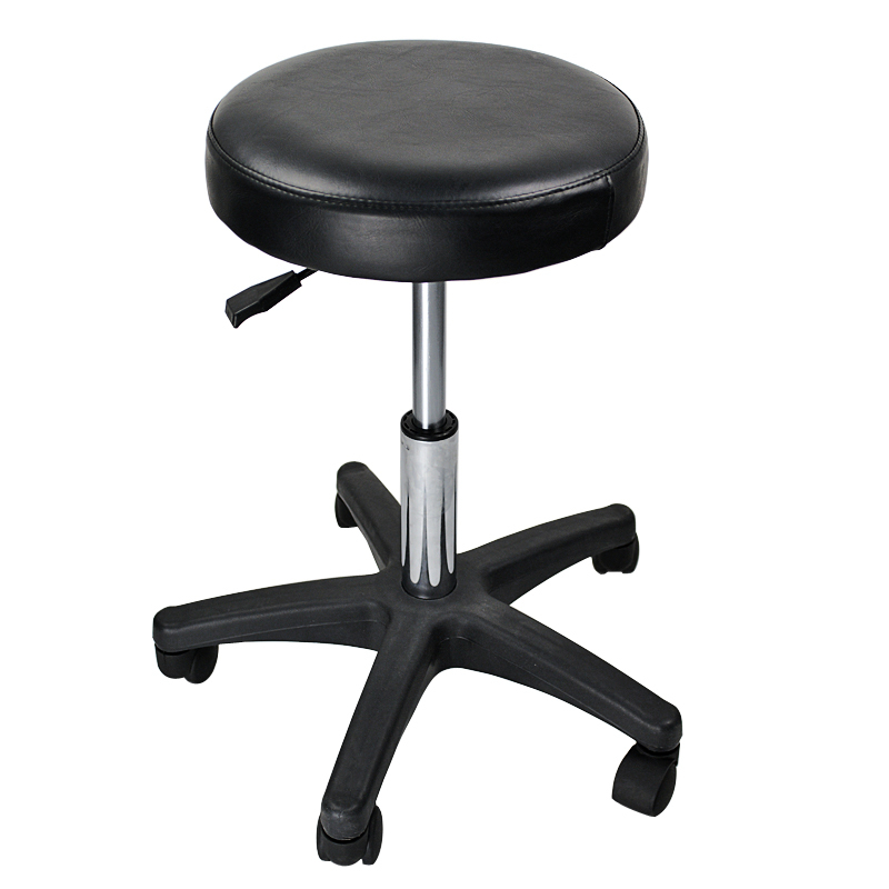 Adjustable Rolling Hydraulic Stool For Home Office And