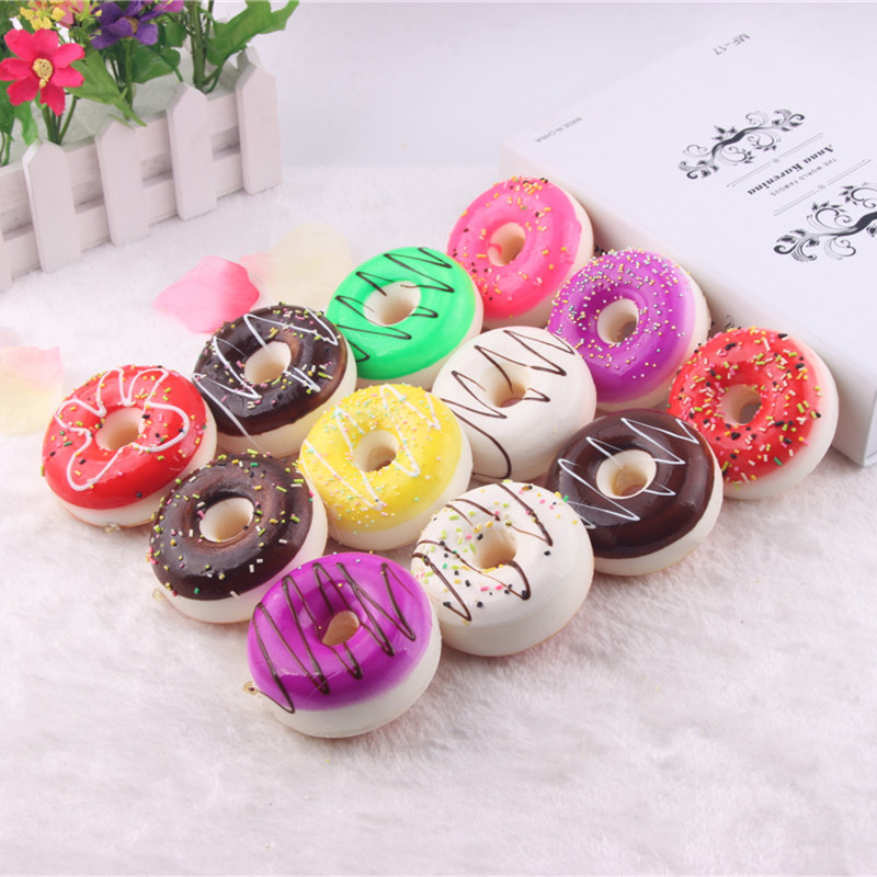 Online get cheap donut keychain alibaba for Artificial bread decoration