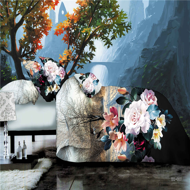 3d oil painting bedding sets car interior design - Housse de couette marilyn monroe ...