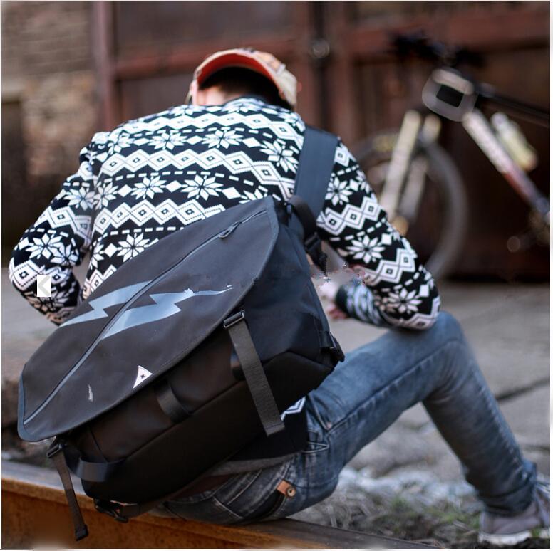 VEEVAN New 2014 Hot Sale Fashion Black Men Fixed Gear Bags High Quality Man Brand Sport Bag Men Messenger Bags MSPSB0131407(China (Mainland))