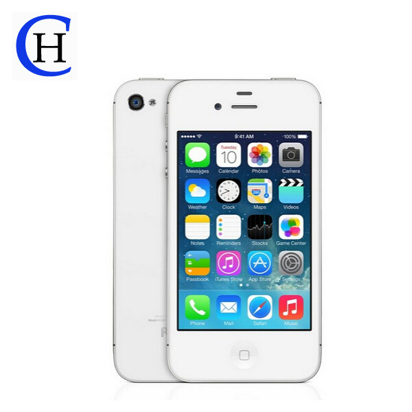 Мобильный телефон APPLE iphone 4s /8 /16 /32 ios 7 4s WiFi 3G GPS 3,5 5MP мобильный телефон 5c 100% iphone 5c ios 8 4 0 ips 8mp 1080 p 16 32 64 wifi 3g apple