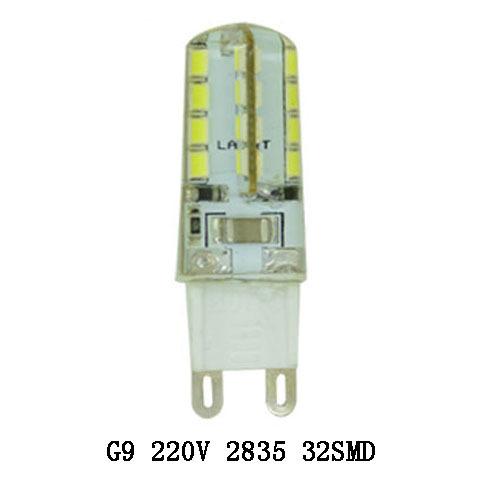 Гаджет  Wholesale G9 7W 9W 220V Corn LED Lamp 2835SMD LED Spot Light 32Leds 48Leds 360 Bean Angle Silicone Warm Cool White LED Light None Свет и освещение