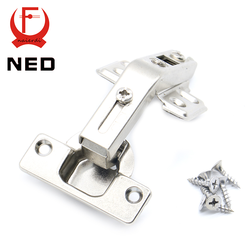 NED 135 Degree Corner Fold Cabinet Door Hinges 135 Angle Hinge Furniture Hardware For Home Kitchen Bathroom Cupboard With Screw(China (Mainland))