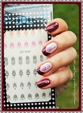 BORN PRETTY BP W08 Dream Catcher Nail Art Water Decals Transfer Stickers