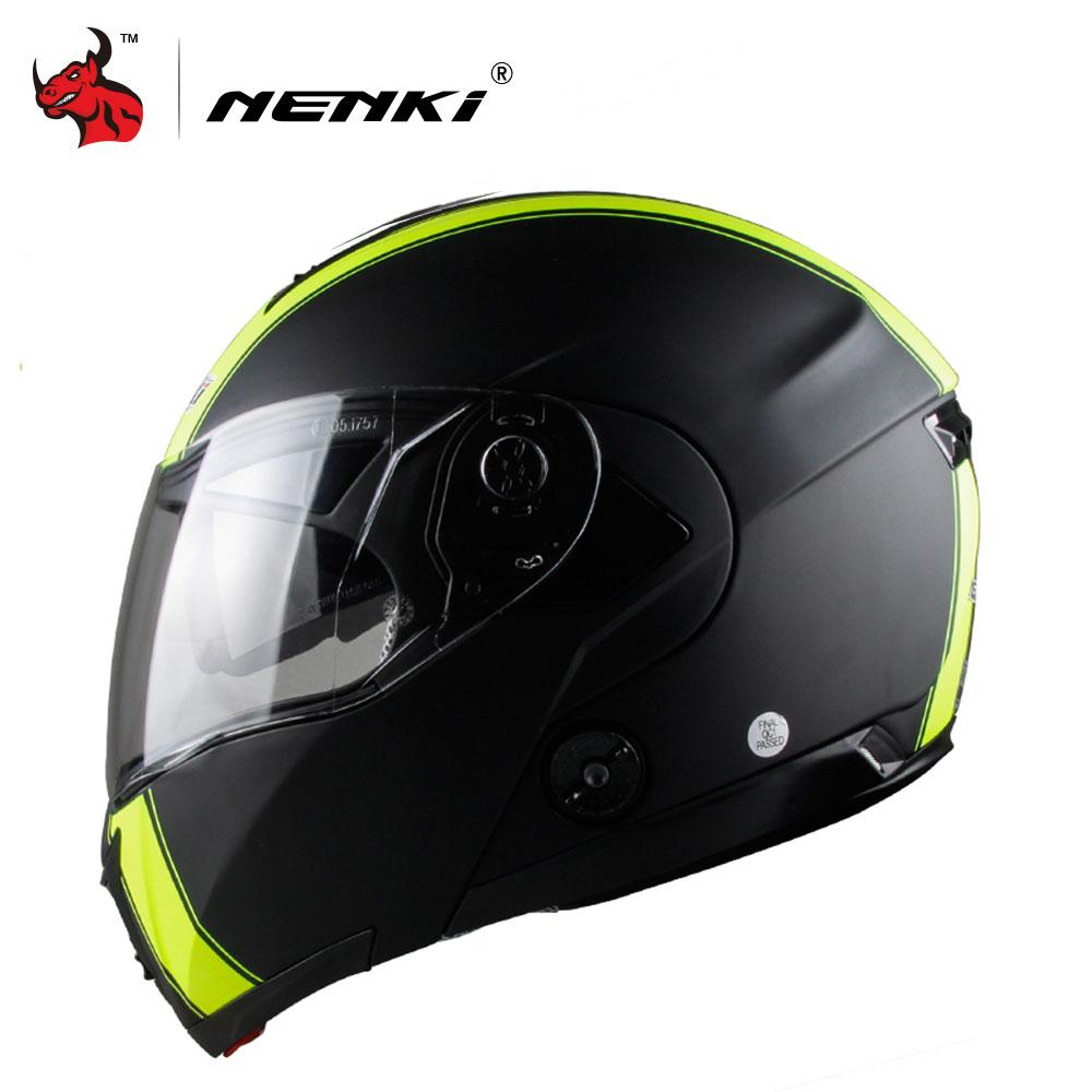 NENKI Motorcycle Helmet Fashion Design Full Face Racing Helmets Men's Full Face Helmets Black Motorbike Helmets(China (Mainland))