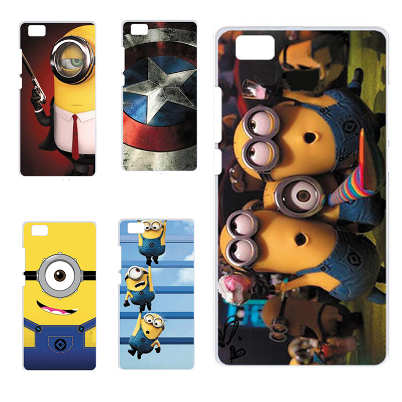 Cute Cartoon Painted Mobile Phone Case For Huawei p8 Lite Colorful Protective Case Capa Funda For Huawei Ascend P8 Lite 5.0 inch(China (Mainland))