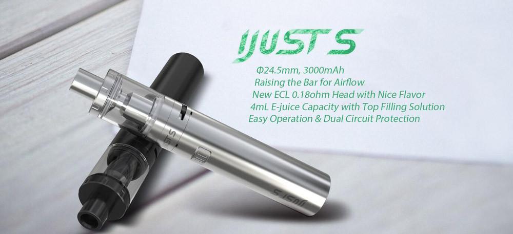 ถูก เดิมเครื่องใช้ไฟฟ้าบุหรี่Eleaf iJust S 3000มิลลิแอมป์ชั่วโมงพร้อมแบตเตอรี่4มิลลิลิตรเครื่องฉีดน้ำฉันเพียงแค่S vs Eleaf ijust 2ชุด