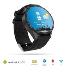 Bluetooth KW88 Android 5.1 Smart Watch Phone MTK6580 Quad Core 2.0MP Camera smartwatch for apple xiaomi huawei phones Wristwatch