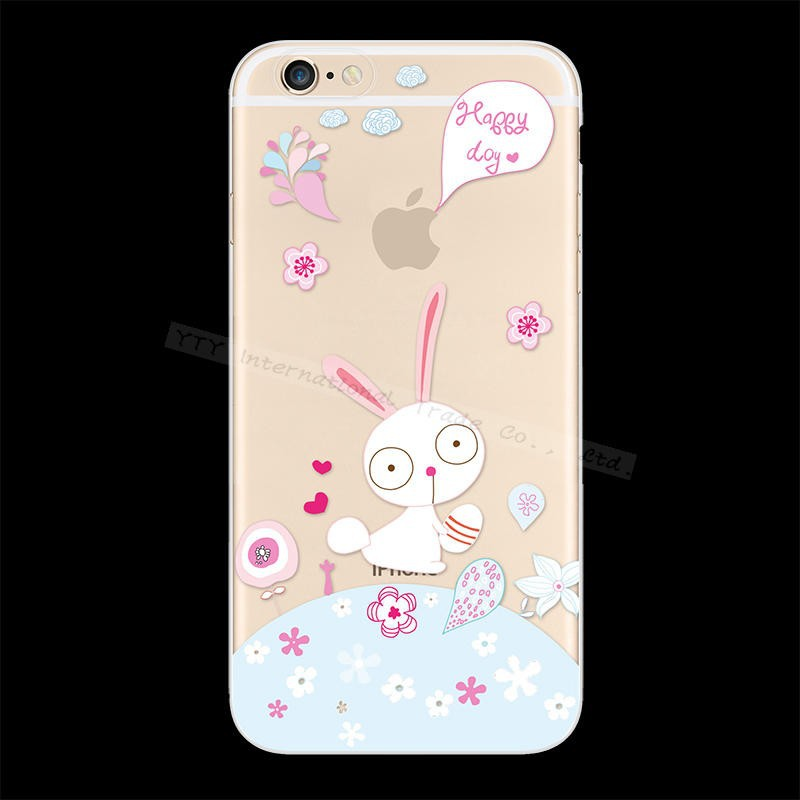 6+/6S+ 1PCS Painting Inaugurate Varied Botany Phone Silicon Cases For Apple iPhone 6Plus 6S Plus Case Cover Shell 2016 Newest