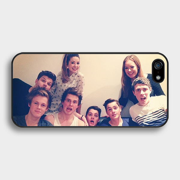 British YouTubers phone case for iPhone 4 5s 5c 6 6s Plus iPod touch 4 5 6 Samsung s2 s3 s4 s5 mini s6 s7 edge plus Note 2 3 4 5(China (Mainland))