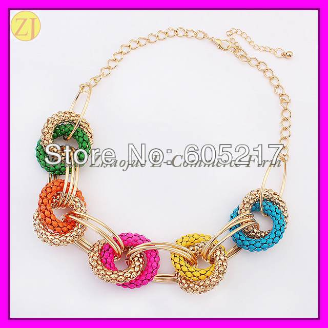 Free Shipping Fashion Gold Plated Alloy Necklace Jewellery XL-1788(China (Mainland))