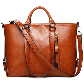 Women's Cowhide Leather Handbag