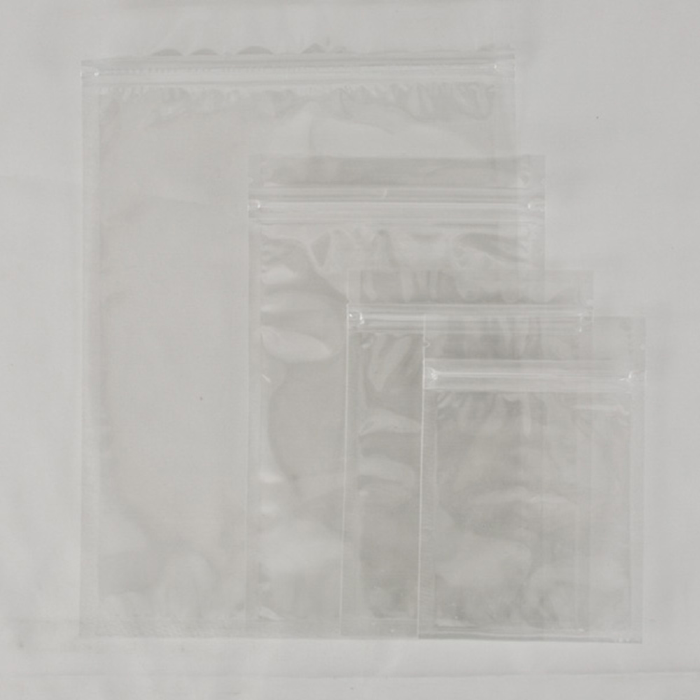 """100pcs small parts Packing Ziplock Clear Grip Seal Bags 12x20cm/4.7x7.8""""#A6646(China (Mainland))"""