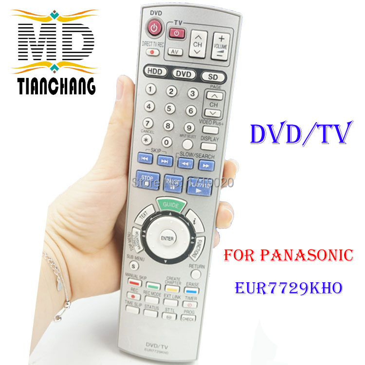 EUR7729KHO Remote controller For PANASONIC LCD TV/VCR/DVD(China (Mainland))