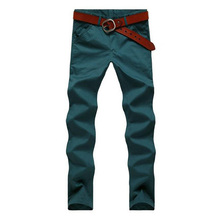 2015 Hot-selling Men's Fashion Korean Style Slim Fit Pants Male Casual Mid-Rise High Quality Pants 8 Colors MKX158(China (Mainland))