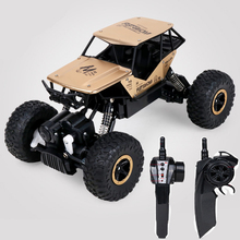 Buy 2017 Electric 1:18 Rc Cars 4WD Shaft Drive Trucks High Speed 45KM/H Radio Control Monster Brushless Truck Scale Super Power Toys for $45.04 in AliExpress store