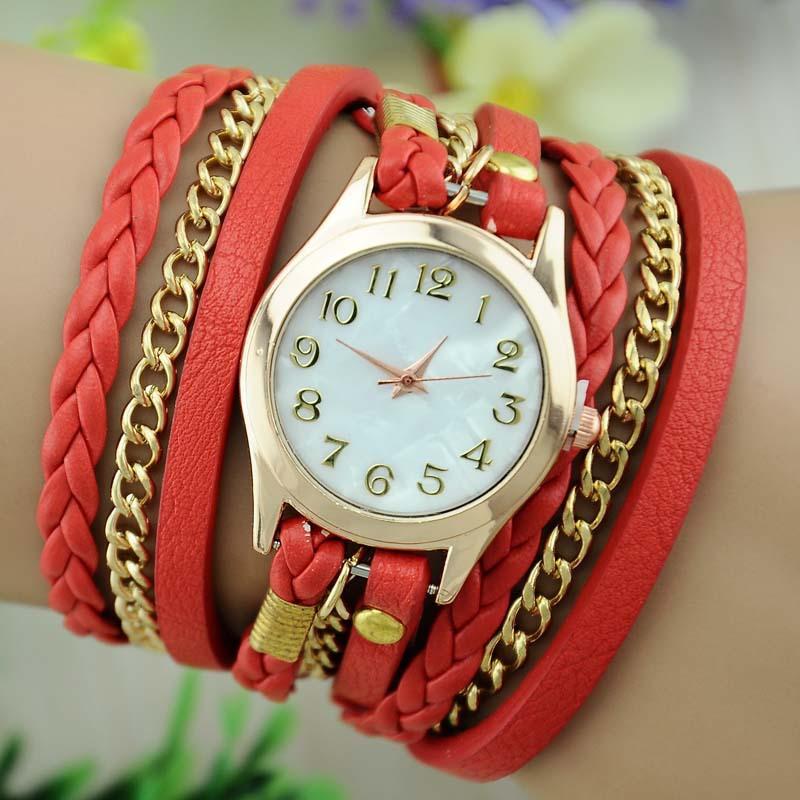Hot Sales Wristwatch Fashion Quartz Watch Women's Watches 8 Colors(China (Mainland))