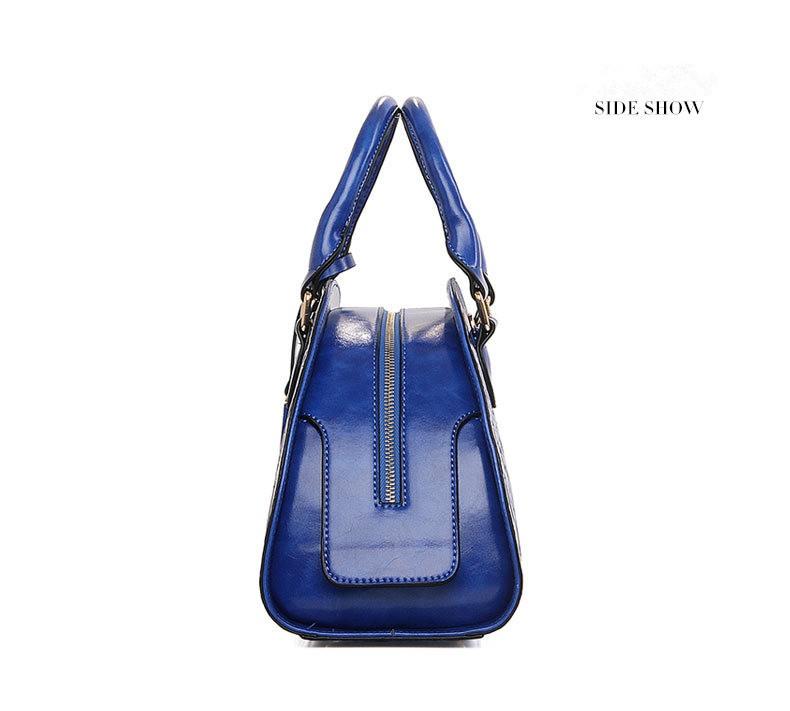 ซื้อ คลาสสิกสไตล์จีนผู้หญิงกระเป๋าสีแดงผู้หญิงเปลือกกระเป๋าเท้ากระเป๋าแฟชั่นวินเทจสีฟ้าซิปกระเป๋าใหม่