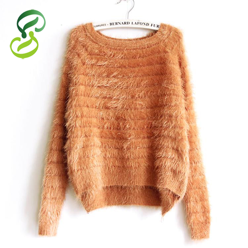 CASHMERE SWETER 100% Cashmere Sweater Women Soft Sweaters and pullovers Pure Mink Cashmere Knitted Pullover ladies sweater(China (Mainland))