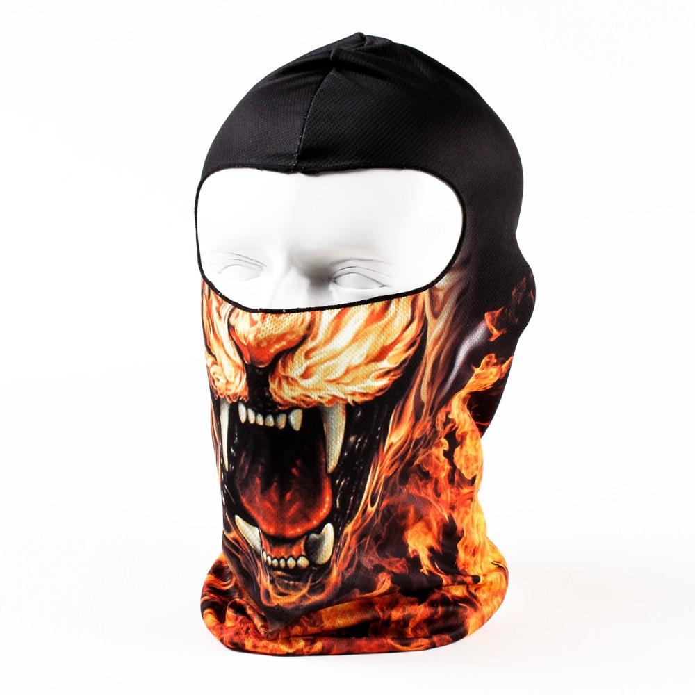 Мужская круглая шапочка без полей 3D Cap