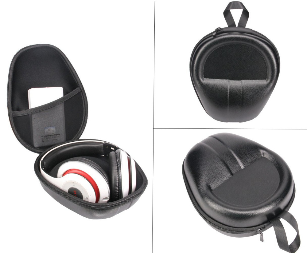Travel Bag Cover Box Cover Case for Beats Solo3 Beats EP Wireless On-Ear Headphone -Extra Space for Phone ,Power Band & Cables(China (Mainland))