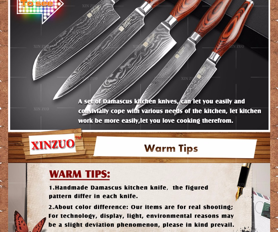 Buy XINZUO 3.5 inch paring knife Japanese VG10 Damascus kitchen kniFE sharp fruit utility peeling knife wood handle FREE SHIPPING cheap
