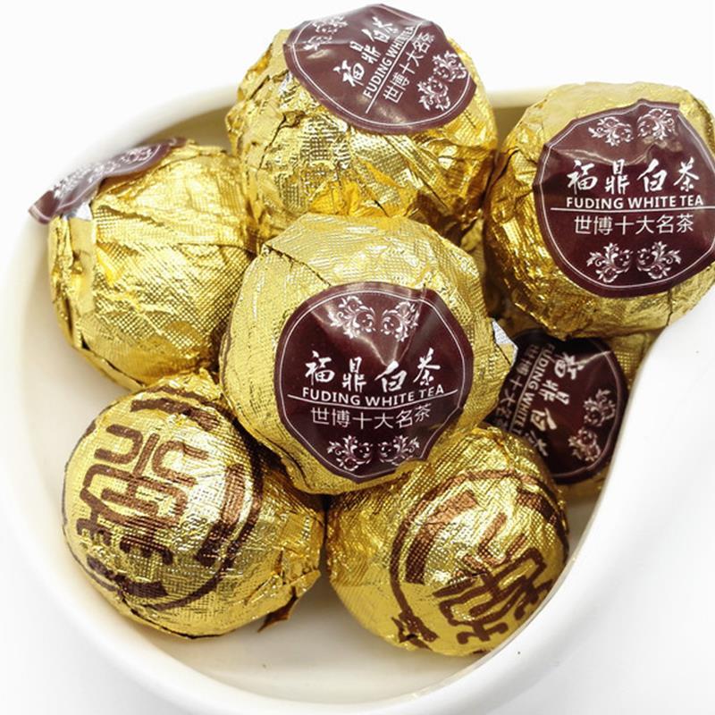 500g Mini White Tea Ball China Fuding High Mountain Chocolate Beads Old Shoumei Handmade Organic Anti Old Health Blooming Te<br><br>Aliexpress